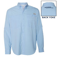 COLUMBIA FISHING SHIRT LONG-SLEEVE